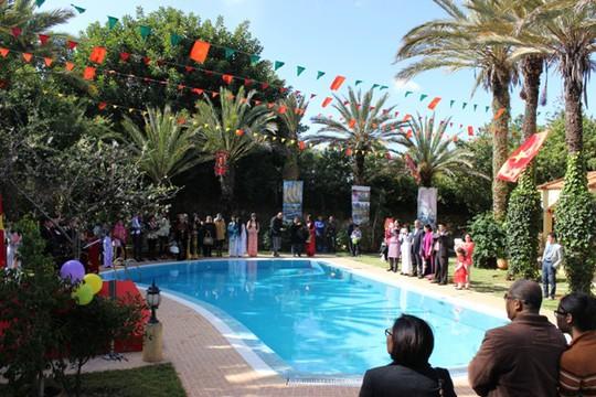 Cái Tết rực rỡ tại Maroc ấm áp