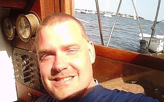 Louis Jordan áất tích trên biển 66 ngày. Ảnh: Telegraph