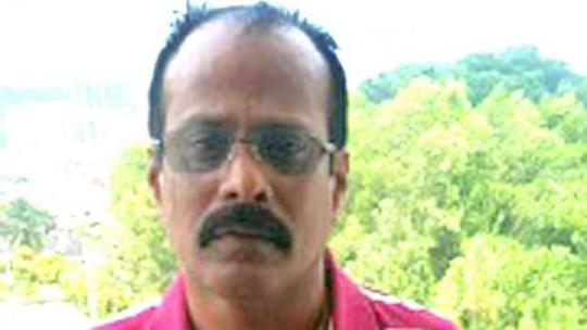 Rajendran Kurusamy, 55 tuổi, một tay trùm đường dây cá độ bóng đá bất hợp pháp tại Singapore.