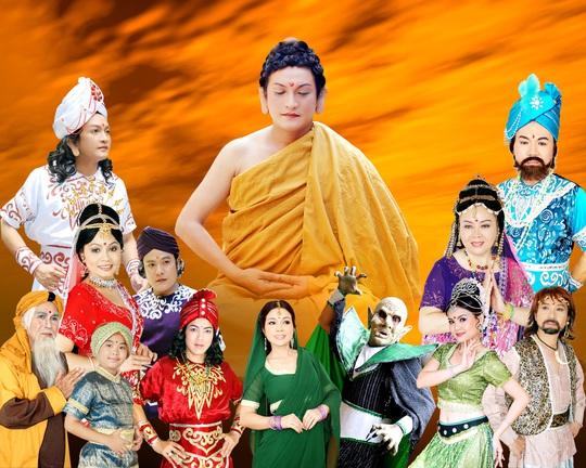Các nghệ sĩ tham gia vở Cuộc đời Đức Phật