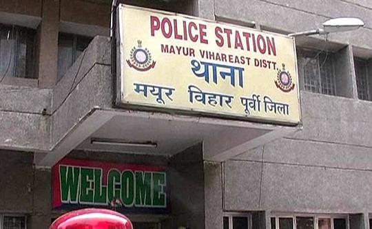 Cảnh sát ở Mayur Vihar đã bắt giữ được 4 nghi phạm. Ảnh: NDTV