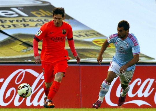 Messi đã không thể làm gì trước một Celta Vigo chơi đầy quyết tâm