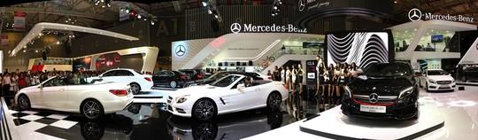 Mercedes-Benz là thương hiệu xe sang có danh mục đa dạng nhất tại Việt Nam