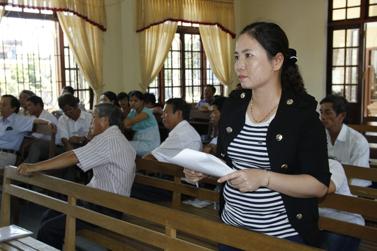 Nữ hộ sinh Dương Thị Thu Thủy nói rằng mình sẵn sàng đi tù để bảo vệ công lý