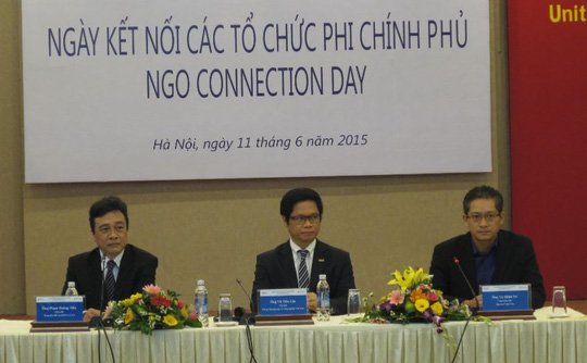 Ngày hội kết nối các tổ chức phi Chính phủ (NGO) diễn ra vào sáng 11-6