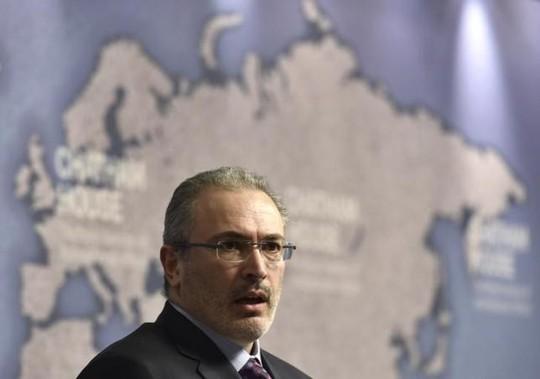 Mikhail Khodorkovsky từng là người giàu nhất nước Nga. Ảnh: Reuters