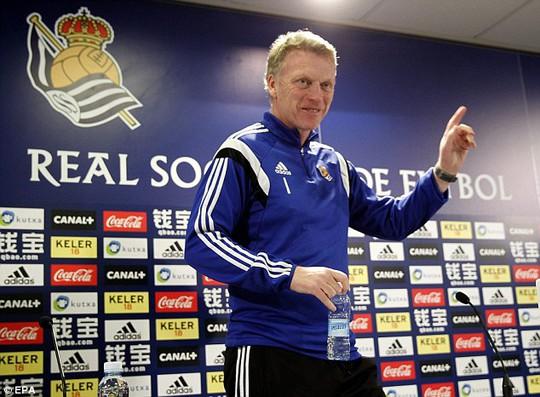 Cựu HLV M.U David Moyes rất muốn Gerrard sang Tây Ban Nha thi đấu cho Sociedad của ông