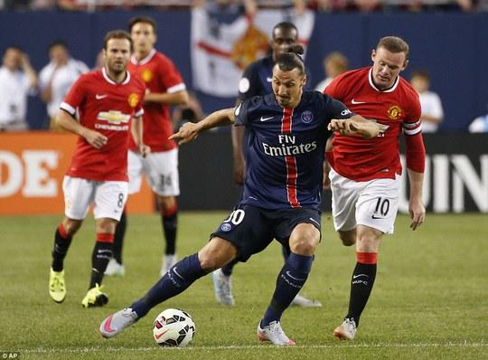 Ibrahimovic phát động tấn công và ghi bàn thứ hai cho PSG