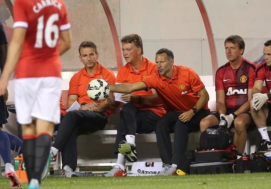 HLV Van Gaal đã định hình được bộ khung M.U cho mùa giải mới