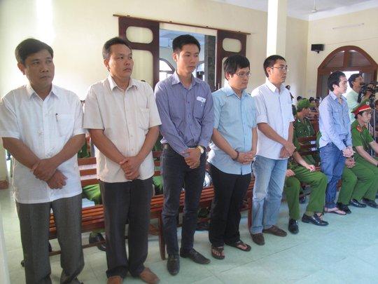 6 bị cáo trong vụ công andungf nhục hình dẫn đến chết người tại phiên tòa sơ thẩm lần 2
