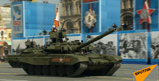 Siêu tăng T-14 Armata. Ảnh: Sputnik