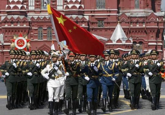 Binh lính Trung Quốc. Ảnh: Reuters