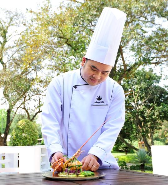 Đầu bếp Nguyễn Đông Hải, nhà hàng Le Parfum, khách sạn La Residence (Huế)