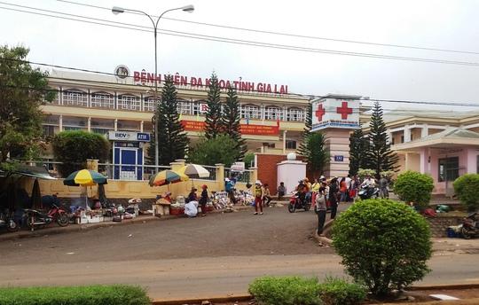 Bệnh viện Đa khoa tỉnh Gia Lai, nơi thanh tra tỉnh này kết luận có nhiều sai phạm.