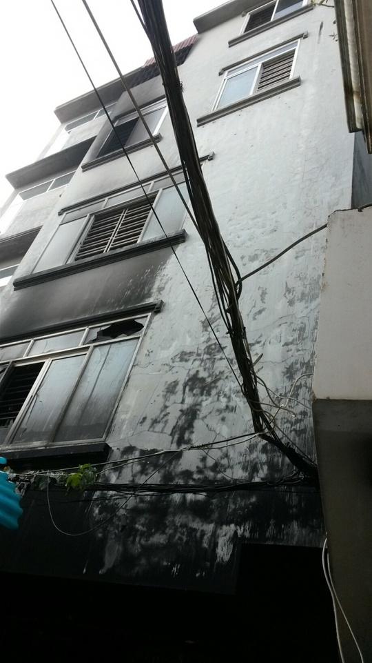 Ngôi nhà xảy ra vụ hỏa hoạn