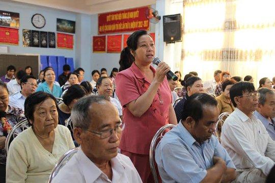 Các nhà trọ phát biểu tại chương trình họp mặt