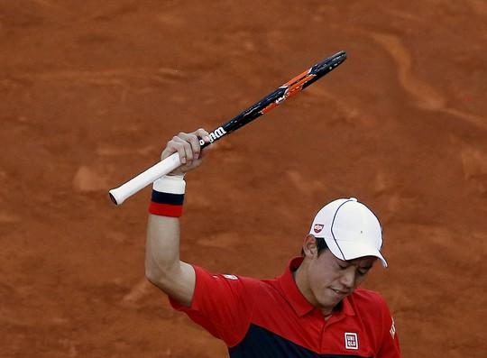 Nishikori thất vọng khi không thể vượt qua Murray