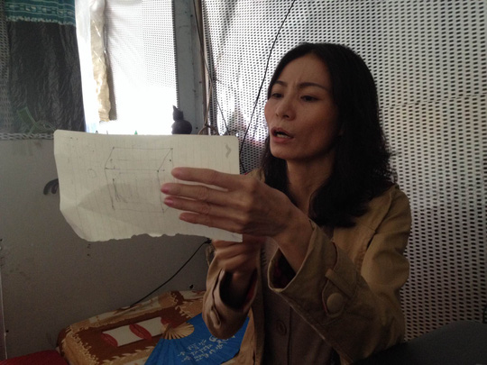 Bà Ngọt người tự nhận số tiền 5 triệu yen là của chồng mình