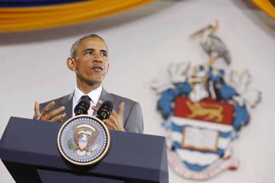 """""""Việc Philippines hay Việt Nam không lớn bằng Trung Quốc không có nghĩa là họ bị đẩy sang một bên"""" – Ông Obama nhấn mạnh. Ảnh: Reuters"""