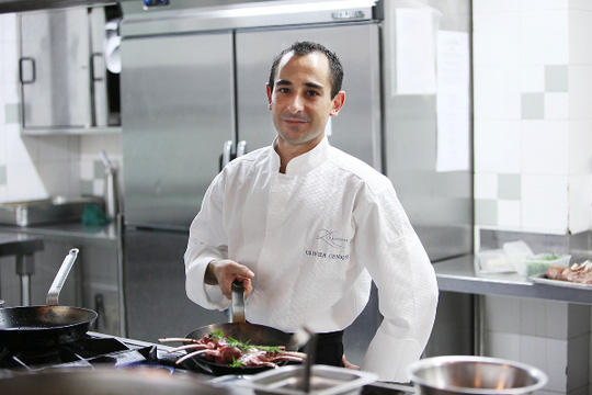 Đầu bếp Olivier Genique, nhà hàng Le Beaulieu (Hà Nội)