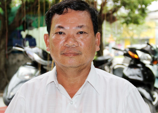 Ông Nguyễn Viết Lượng cho rằng mình bị oan sai