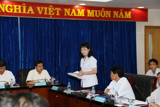Bà Nguyễn Thị Tuyết Mai, Chánh Thanh tra tỉnh Bình Dương cho rằng đại diện Vĩnh Phát đã ngộ nhận, hiểu chưa đúng sự việc nên mới khiếu nại
