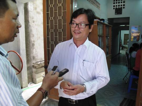 Ông Dương Bình Phú, Phó giám đốc Sở KH-CN Phú Yên cho rằng sau khi xử lý người ngoài phòng sẽ không bị ảnh hưởng