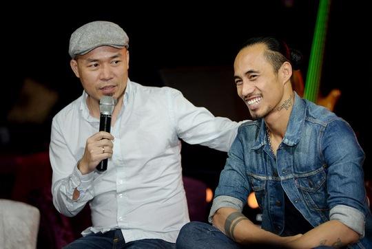 Nhạc sĩ Huy Tuấn thấy mừng khi Phạm Anh KHoa gặt hái được thành công trên con đường của mình