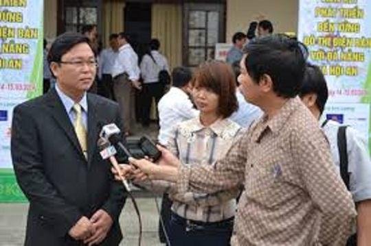 Ông Lê Trí Thanh vừa trúng cử chức danh Phó chủ tịch UBND tỉnh Quảng Nam Ảnh: dbrt.org.vn