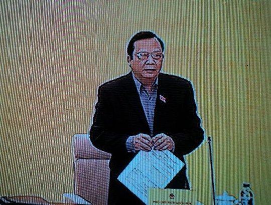 Phó Chủ tịch QH Huỳnh Ngọc Sơn nhấn mạnh 71 vụ có phải con số đầy đủ hay chỉ là mới phát hiện từng này. Báo cáo cần đánh giá tính chất, hệ lụy chứ không phải là nhiều ít