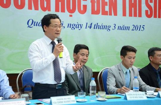ThS Phạm Thế Vinh, Trưởng phòng khảo thí và quản lý chất lượng, Trường ĐH Tài Chính – Marketing.