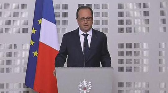 Tổng thống Pháp Francois Hollande cho rằng có thể nhiều hành khách của chuyến bay là người Đức. Ảnh: CBC