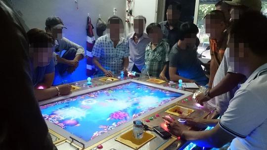 Tại quán MaiKa, một ván bạc bằng game bắn cá trị giá cả trăm triệu đồng