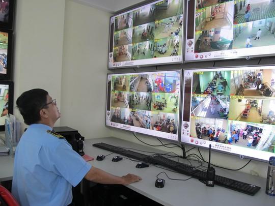 Hệ thống camera an ninh tại Bệnh viện Chợ Rẫy