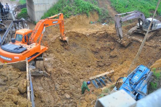 Đường ống nước Sông Đà từ khi đưa vào sử dụng đã bị vỡ nứt 10 lần Ảnh: Phương Nhung