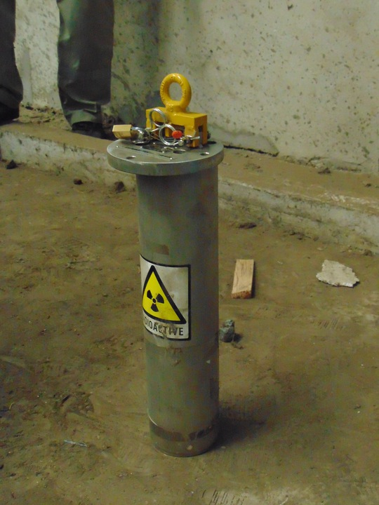 nguồn phóng xạ bị mất giống nguồn phóng xạ trên