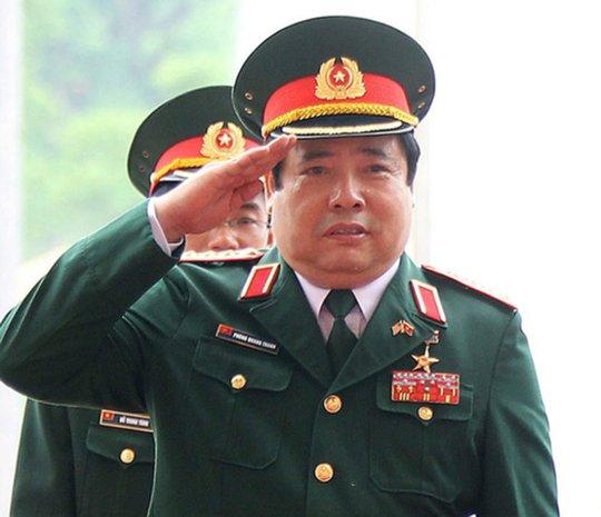 Đại tướng, Bộ trưởng Quốc phòng Phùng Quang Thanh