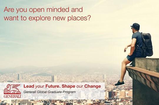 """Tập đoàn Generali đã công bố chương trình """"Đào tạo sau đại học trên toàn cầu"""" tìm kiếm 20 tài năng trẻ để phát triển sự nghiệp - Ảnh: internet"""