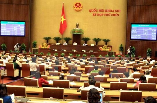 Quốc hội thông qua Nghị quyết BHXH một lần với tỉ lệ tán thành 81,78%