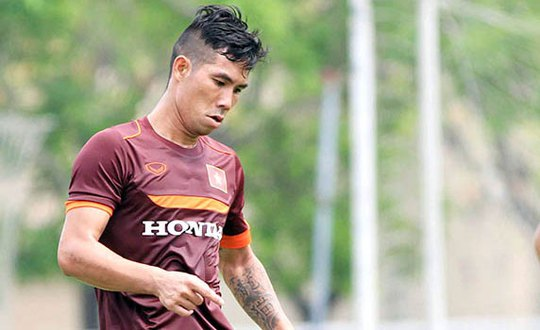 Hậu vệ Hoàng Quảng sớm chia tay đội tuyển
