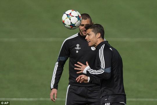 Ronaldo, một trong những cầu thủ đạt phong độ tốt của Real Madrid