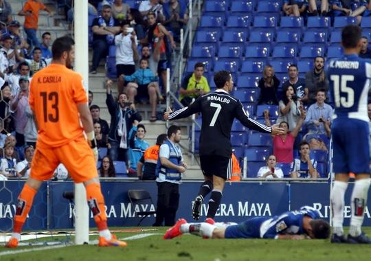 Ronaldo đang hướng đến kỷ lục cầu thủ ghi bàn nhiều nhất cho Real Madrid