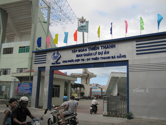Dự án Sân vận động Chi Lăng được mổ xẻ tại kỳ họp (ảnh Hoàng Dũng)