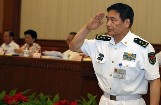 Đô đốc Tôn Kiến Quốc. Ảnh: SCMP