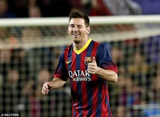 Messi đang có phong độ tốt và sẵn sàng vùi dập Elche