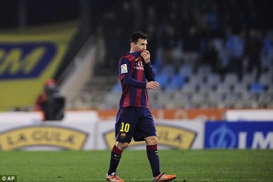 Tiền đạo Messi là cầu thủ đắt giá nhất thế giới hiện nay
