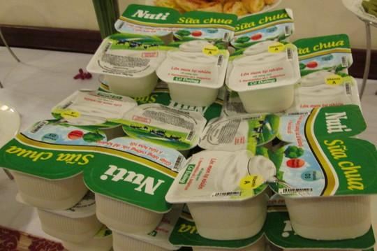 Sữa chua Nuti vừa được tung ra thị trường