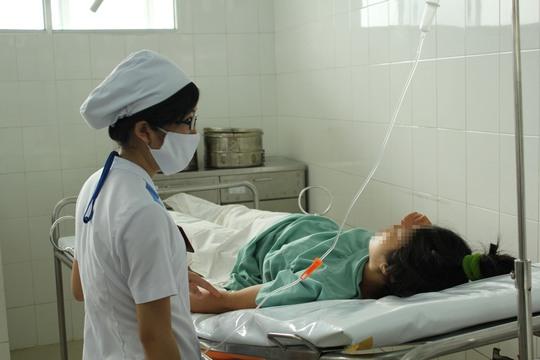 Cứ 5 phụ nữ sau khi sinh con thì có 1 người bị trầm cảm. Trong ảnh: Sản phụ tại Bệnh viện Phụ sản Từ Dũ (TP HCM)