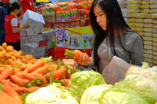 Một số rau quả có tác dụng thông mạch tốt hơn các món khác. Ảnh: Tấn Thạnh