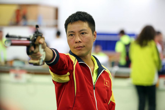 Xạ thủ Trần Quốc Cường